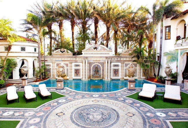 Versace Furniture Negotiable: A Miami Home On A Private Island Lists For  $37 Million A 16,977 Square Foot Italianate Home On A Private Island In  Miami Beach ...